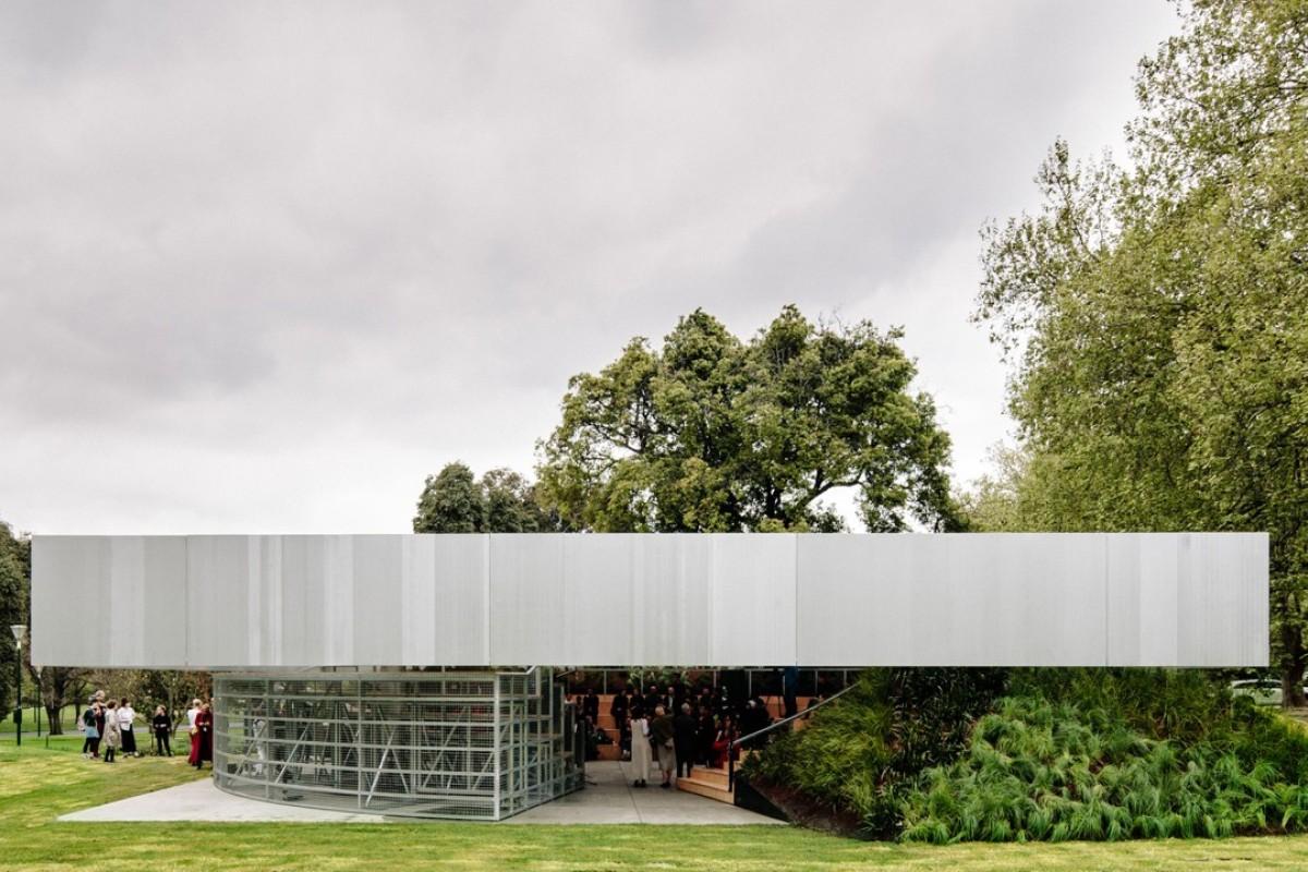 Inside Melbourne's new MPavilion, designed by Rem Koolhaas