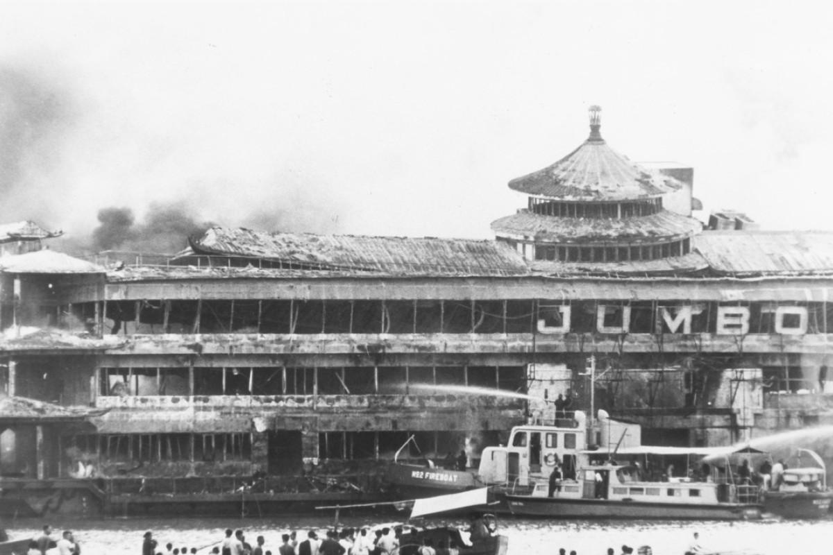 How deadly fire at Hong Kong's Jumbo floating restaurant killed 34