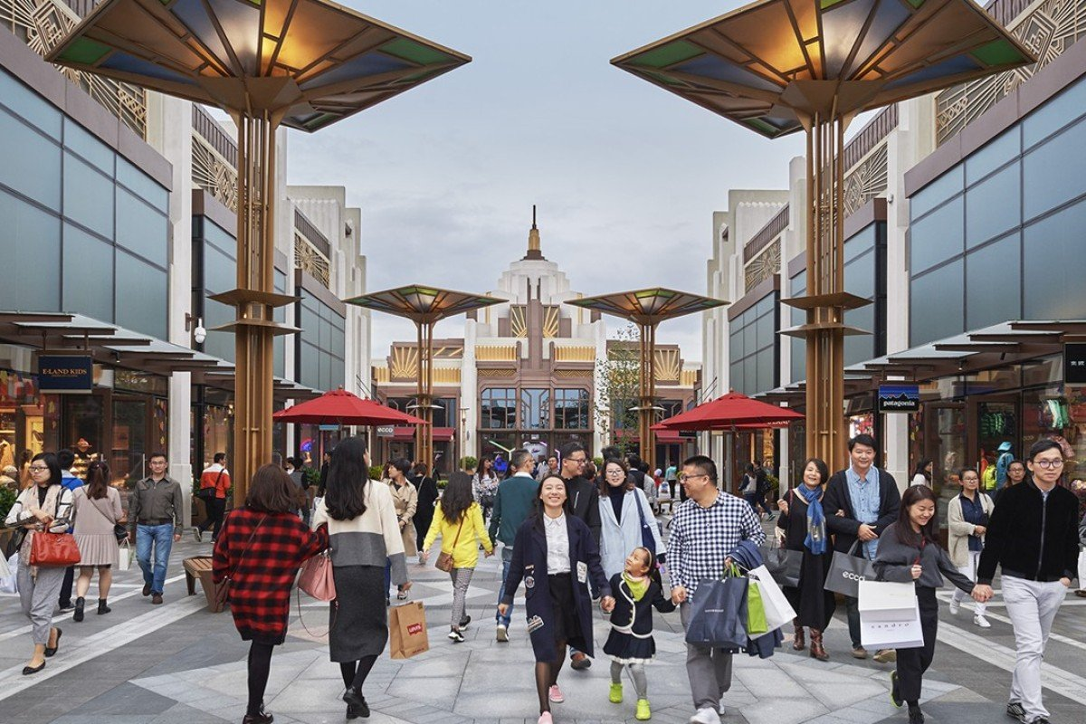 How shopping villages and Chinese tourists are changing the