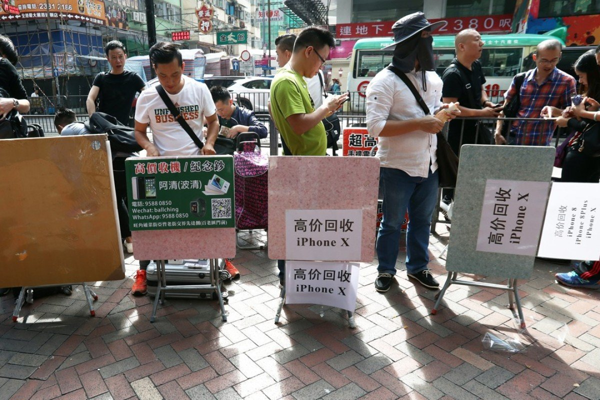 iPhone X traders see low resale demand in Hong Kong | South
