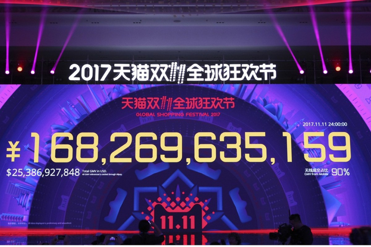 Alibaba smashes Singles' Day record as online shopping