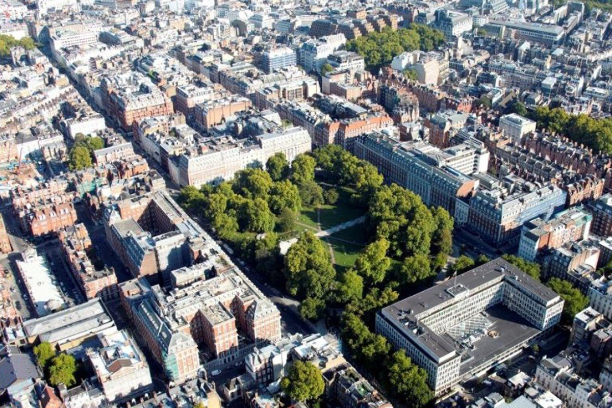 London's Grosvenor Square in Mayfair may gain Chinese