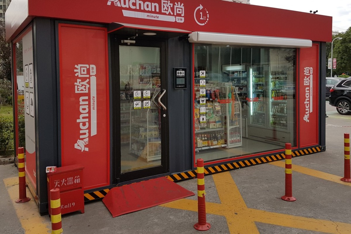 Hisense to build unmanned Auchan grocery stores in China