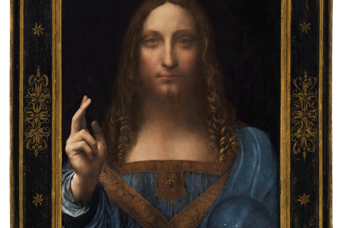 US$450 million paid for Da Vinci painting of Jesus at New