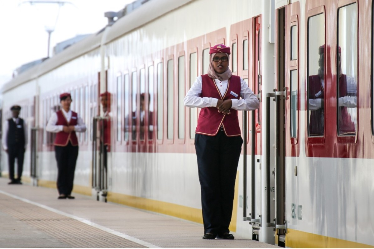 From rail and airports to its first overseas naval base