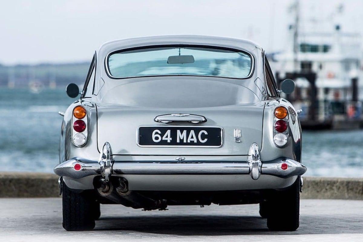 1964 Aston Martin Db5 >> Paul Mccartney S Old 1964 Aston Martin Db5 Goes To Auction