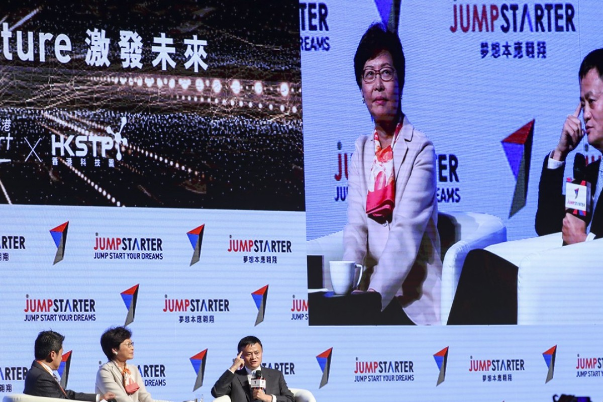 Hong Kong chief executive calls for measures to attract best talent