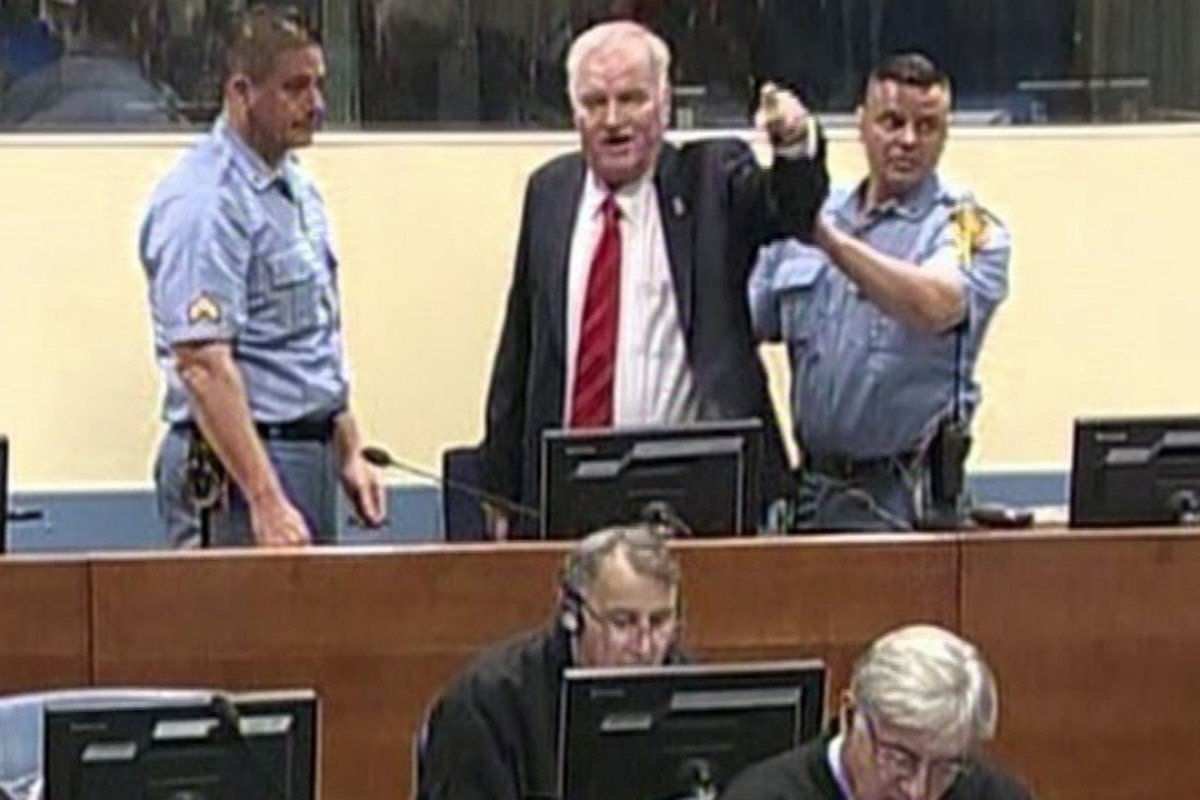 UN court in The Hague convicts Mladic of war crimes, crimes