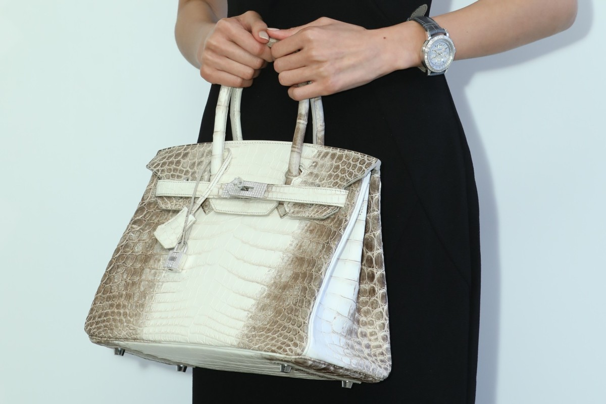 exceptional range of styles huge discount superior quality Hermès Birkin auctioned for a record US$383,522 in Hong Kong ...