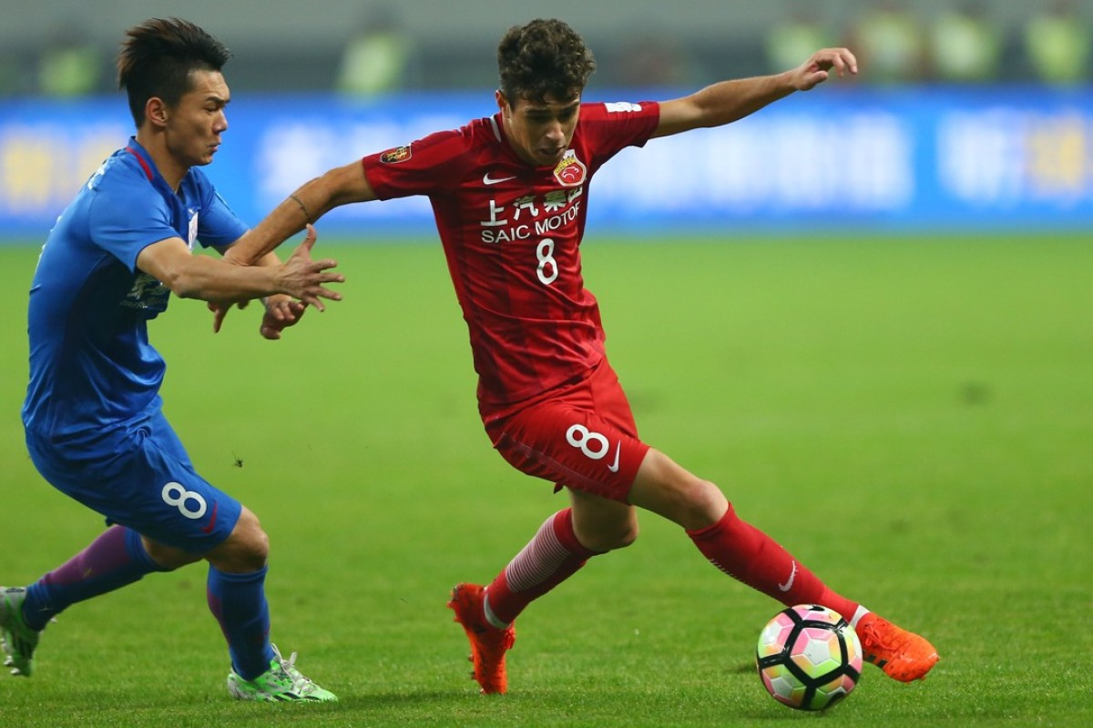 b3bdfebf575 Shanghai SIPG splashed out on Brazilian player Oscar