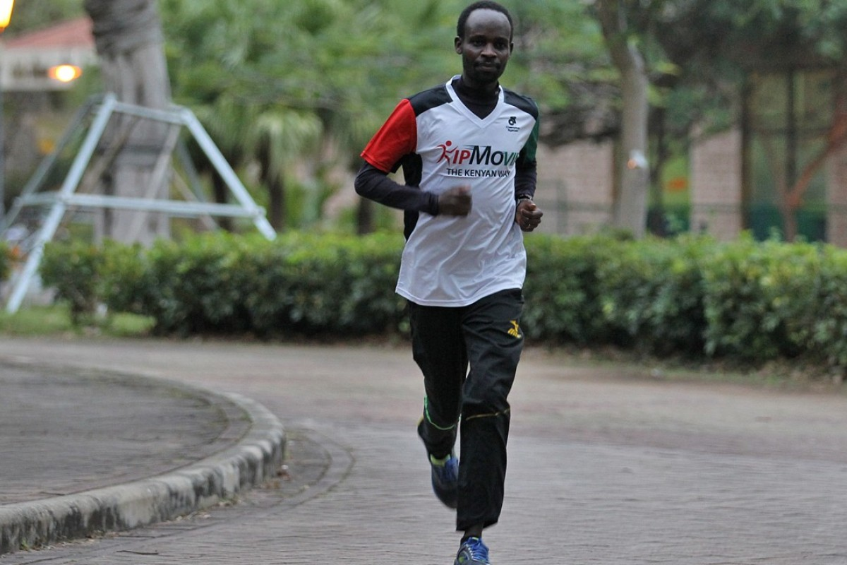 Running is a way of life for Kenyan athlete Thomas Kiprotich
