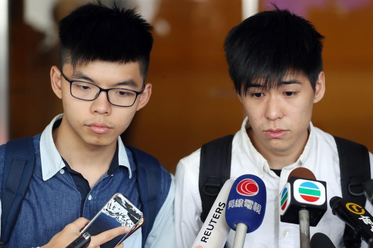 Judge delays sentencing of Joshua Wong and 15 activists for