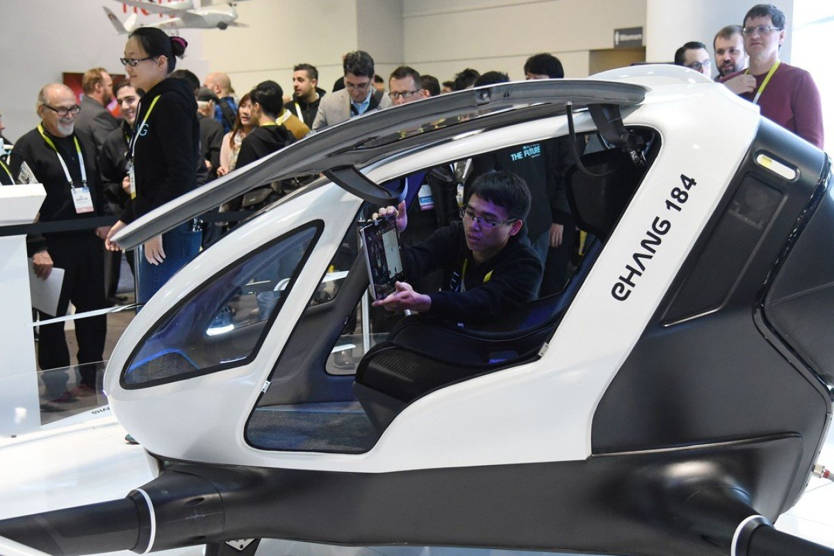 Chinese drone maker wants to fly people around, and it says
