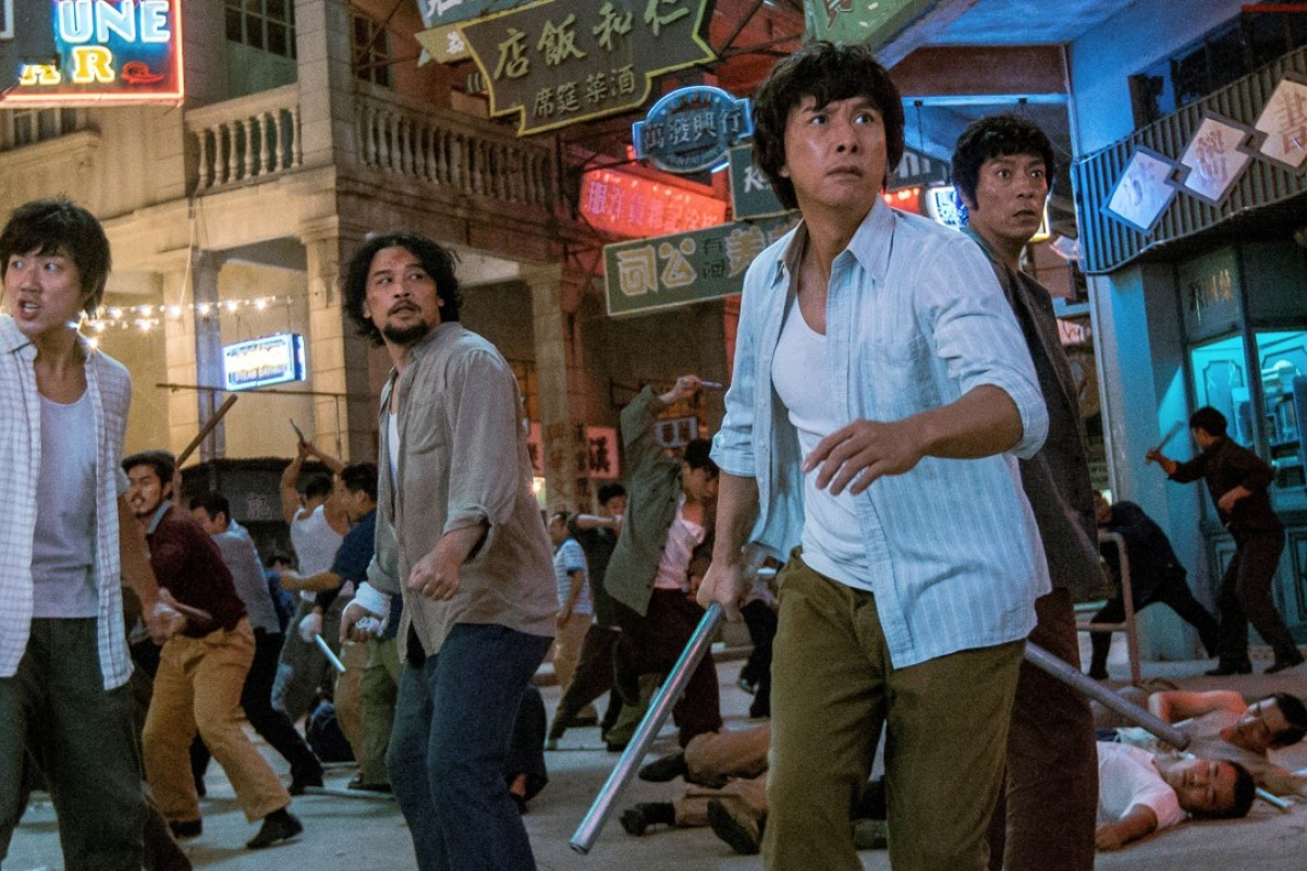 c692d5e88 Donnie Yen (front) plays Crippled Ho in the gangster epic Chasing the  Dragon.