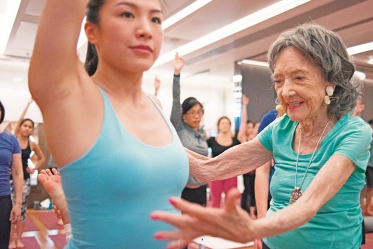 A 99 Year Old Yoga Teacher S Amazing Life And Youthful Spirit And The People She S Known From Gandhi To Marlene Dietrich South China Morning Post