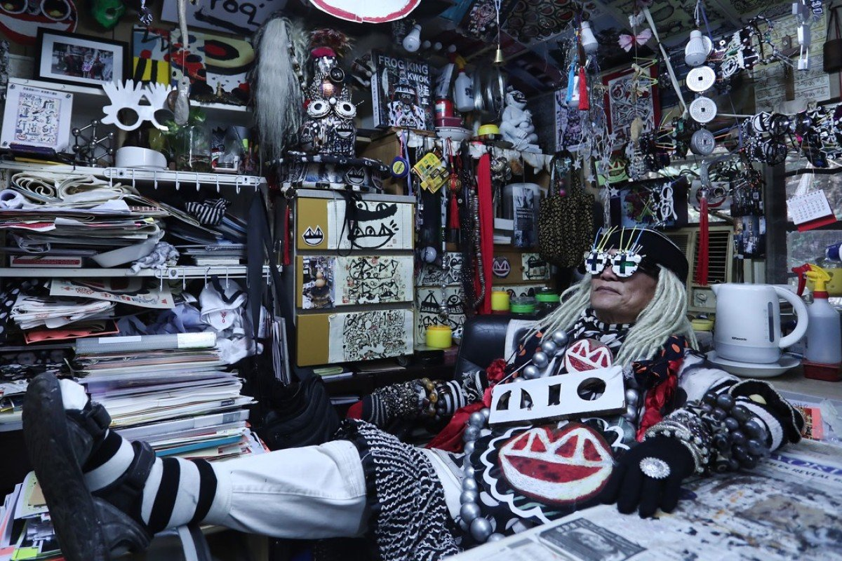 Hong Kong's eccentric Frog King stays one jump ahead of the