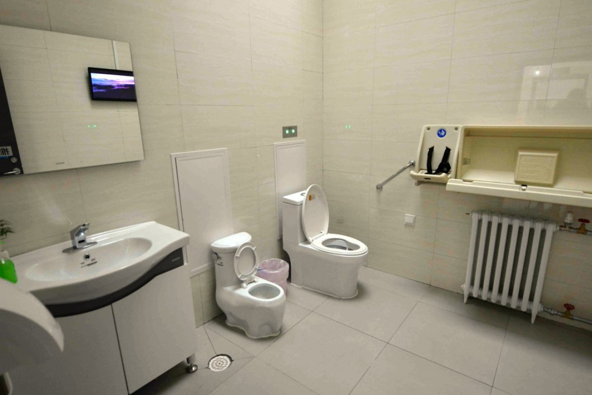 Toilet chiefs' in, luxury loos out as China's public