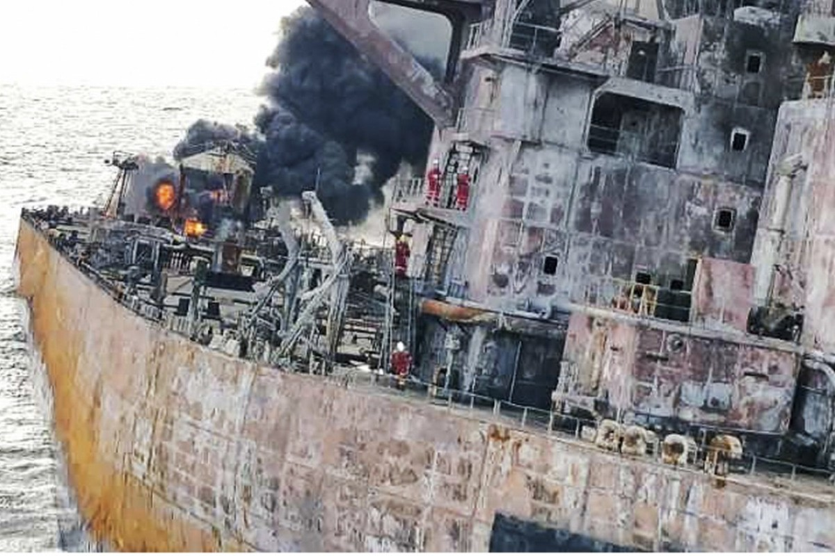 High alert for huge oil slick in East China Sea, but how bad will it