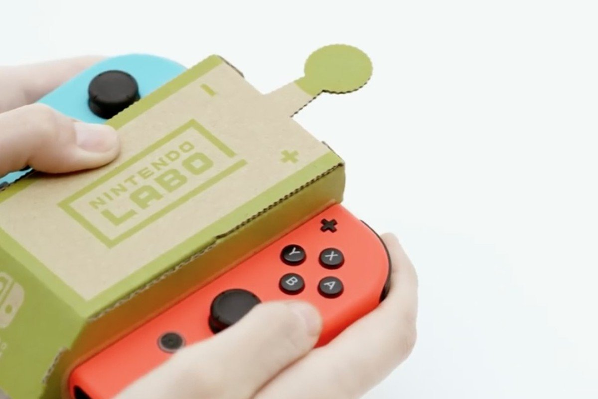 Nintendo's US$70 cardboard Switch accessory Labo causes