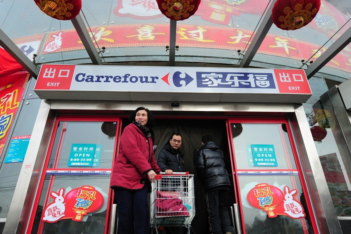 Tencent May Invest In Carrefour China As Internet Giants Extend