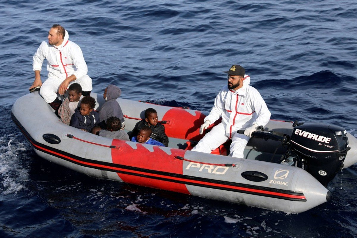 90 people – most Pakistani – are feared dead as migrant boat