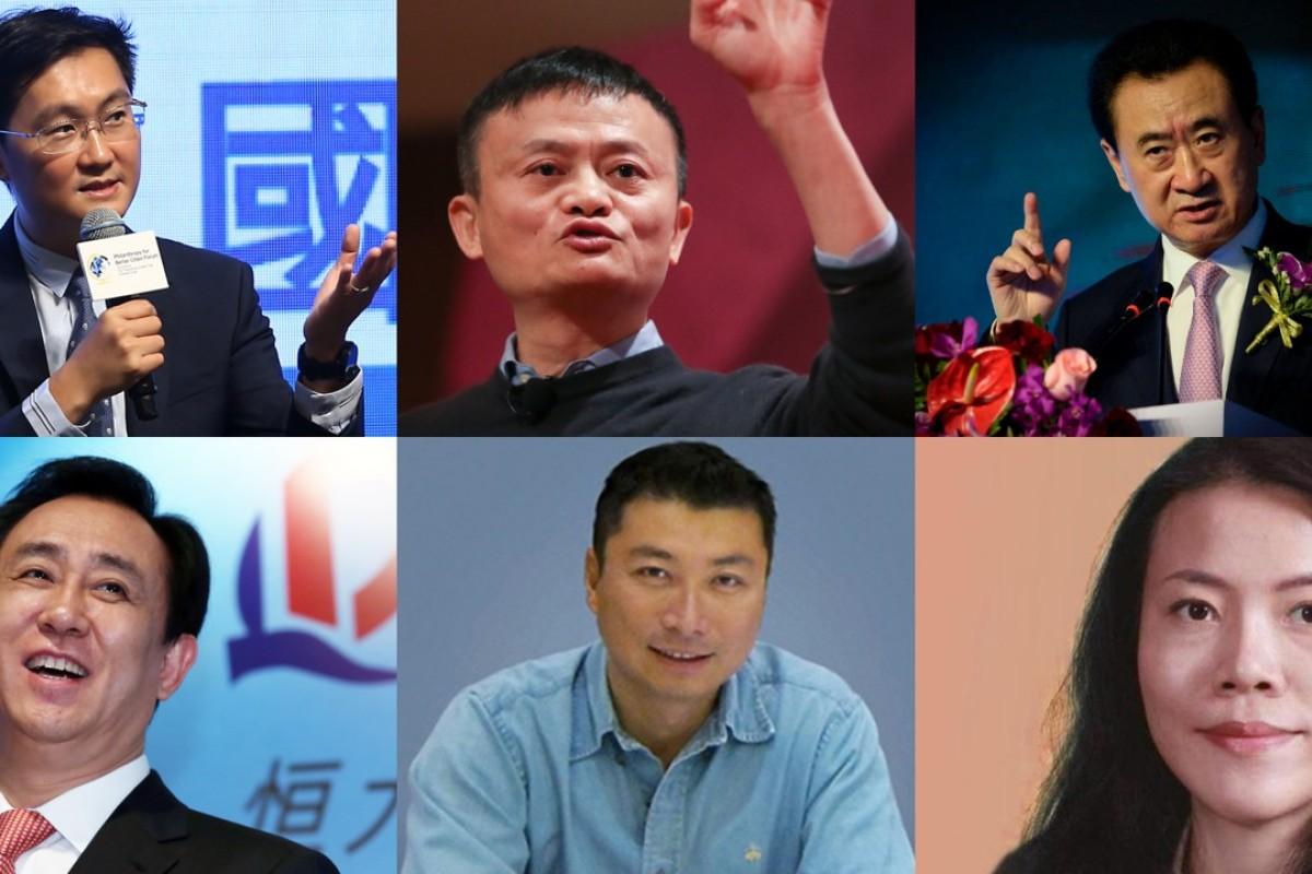 نتيجة بحث الصور عن China's top 10 richest self-made young billionaires