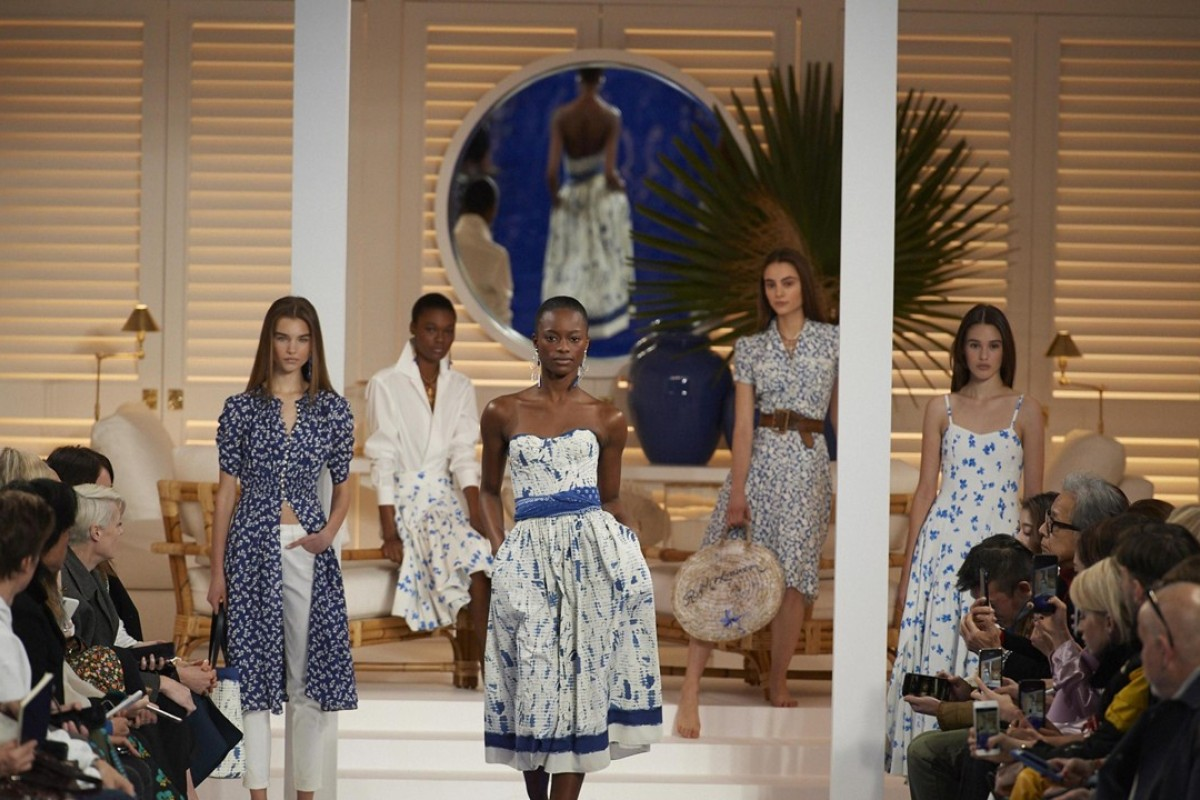 225141c085 Creations from Ralph Lauren s spring summer collection at New York Fashion  Week. Photo  EPA