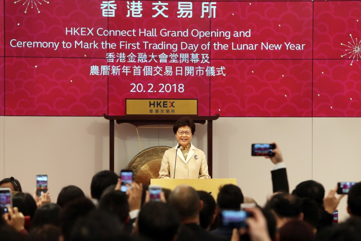 Hong Kong bourse operator unveils multifunctional HKEX Connect Hall