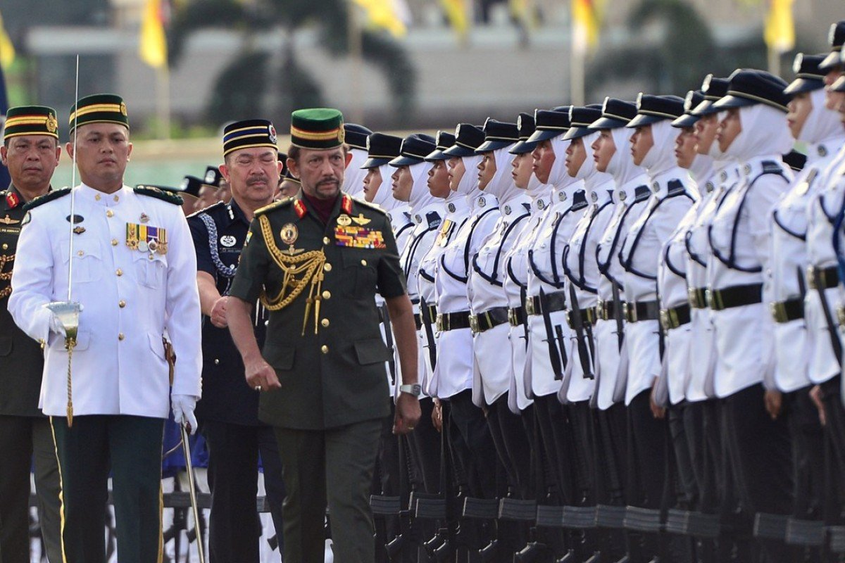 Why China is coming to Brunei's aid as its oil slowly runs