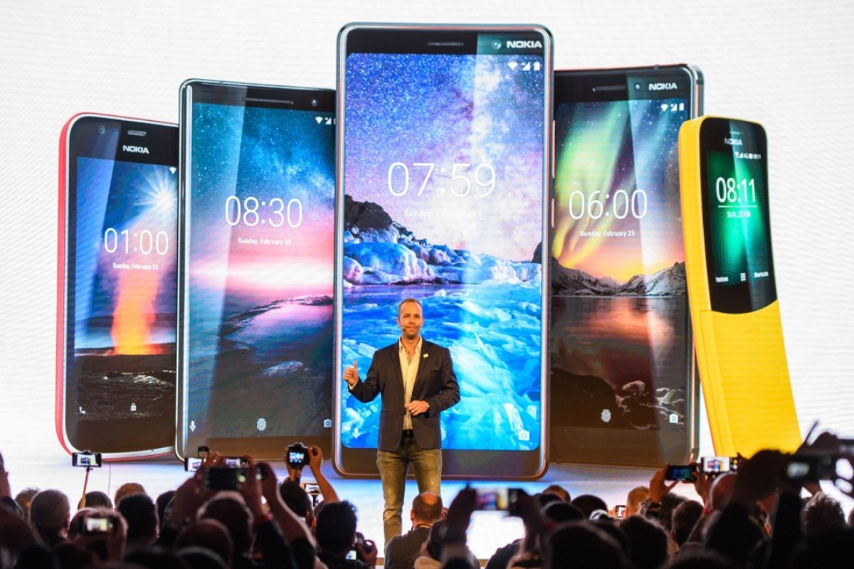 It's for you: smartphones from Sony, Asus, Nokia, LG, and ZTE shadow