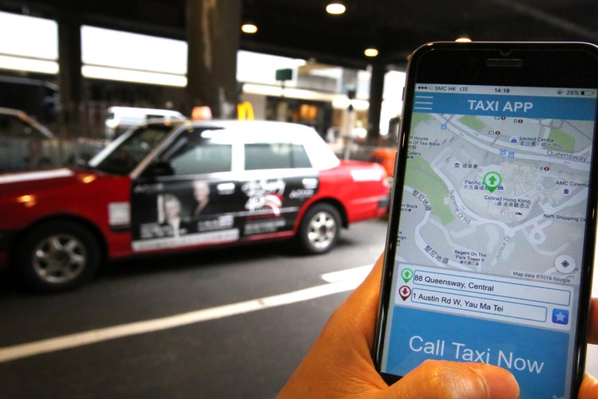 Using Hong Kong's taxi apps as 'frustrating' as flagging