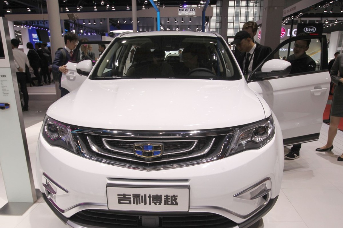 Geely, with Volvo and Daimler under its hood, says it has
