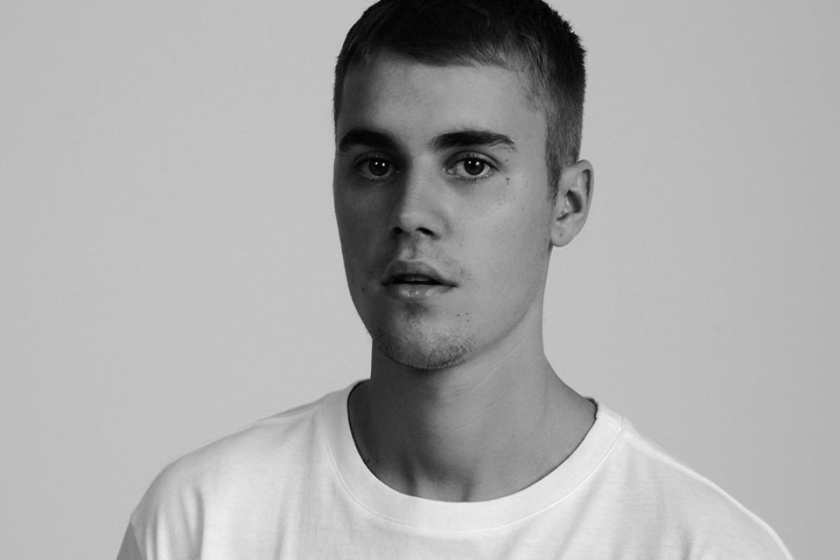 Singer Justin Bieber Wears One Of The Hanes X Karla T Shirts.