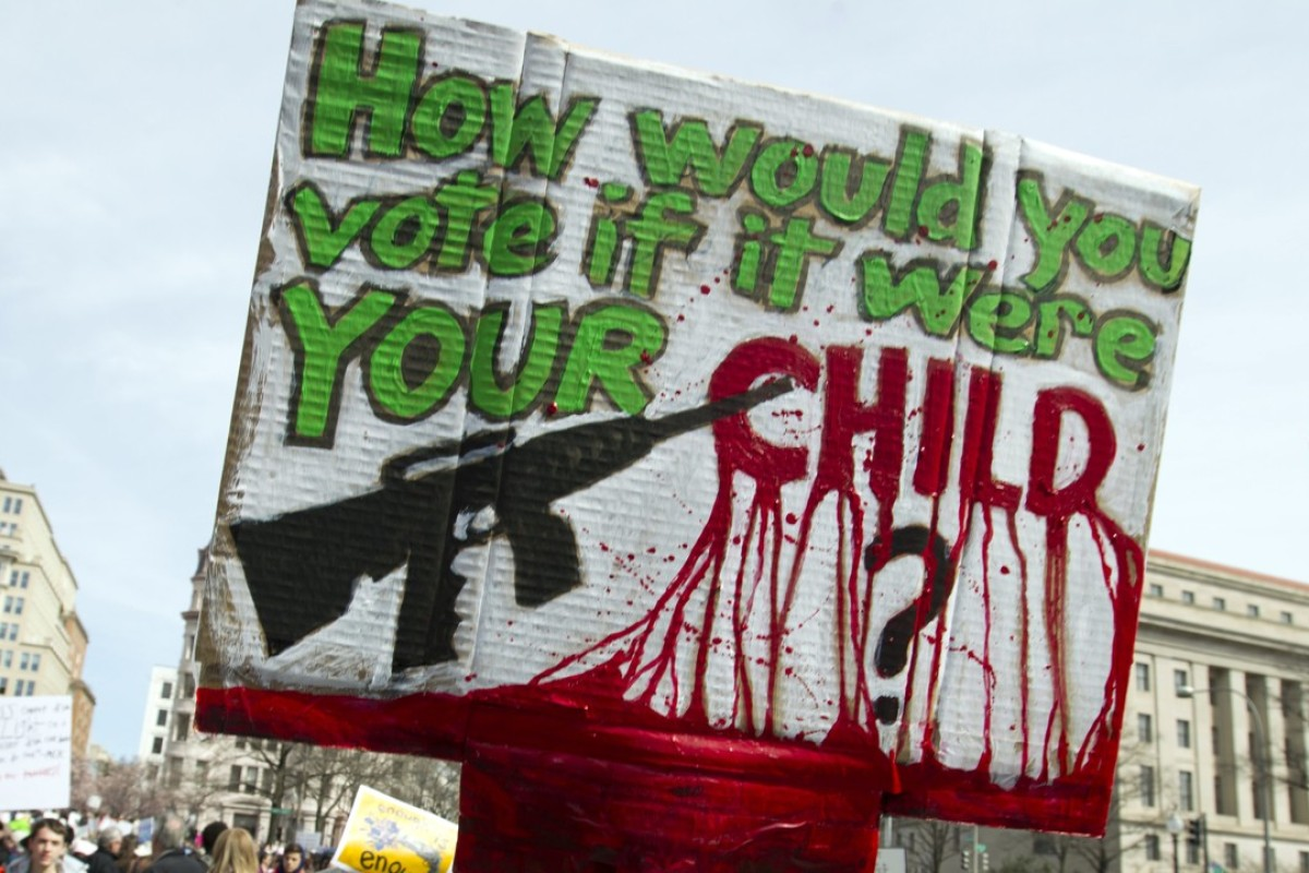 We are the change': students lead March For Our Lives