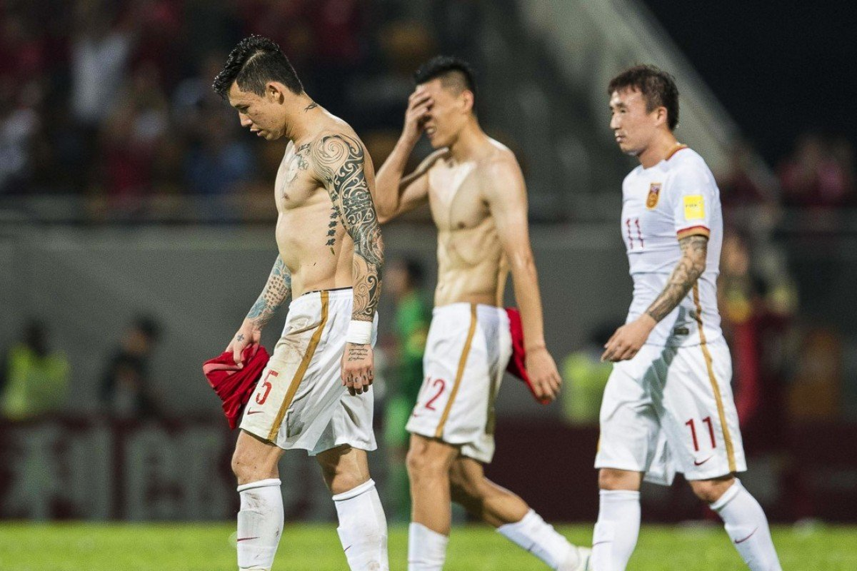 91c321faa Chinese players could soon find themselves in hot waters for their choice  in body art.