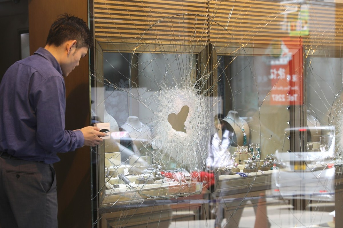 All three suspects caught after HK$40 million smash-and-grab