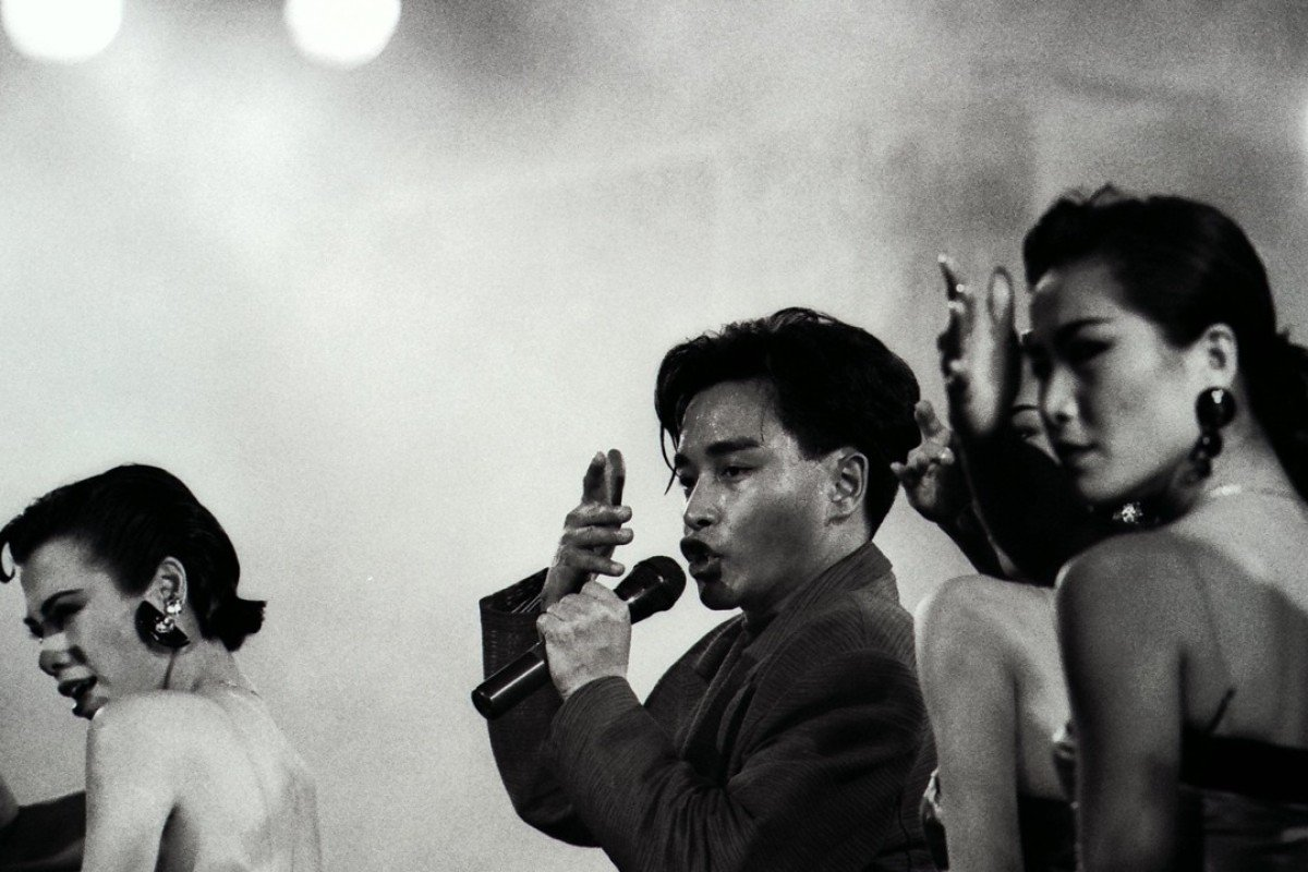 Leslie cheung remembered in 16 rare black and white photos from
