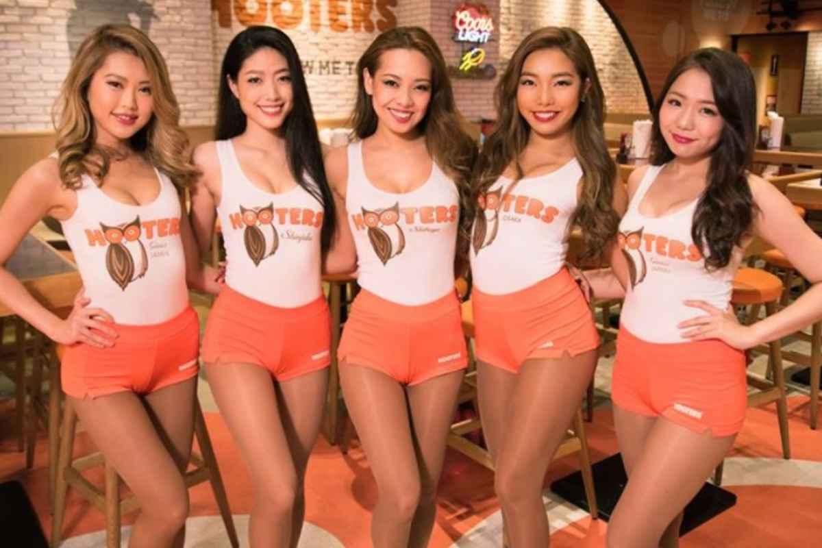 A Hooters in Tokyo is dishing up more than just wings – it's also ...