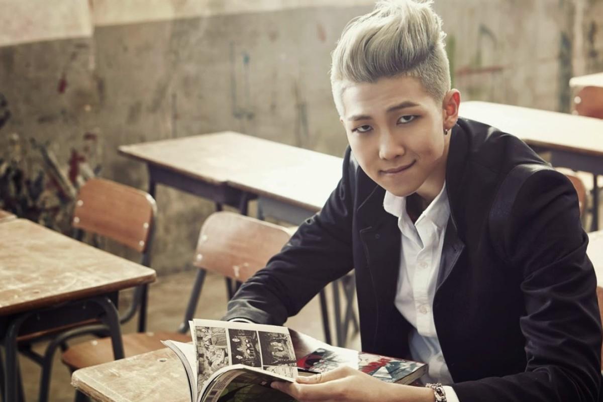 K pop star Rap Monster of BTS is breaking genre's squeaky