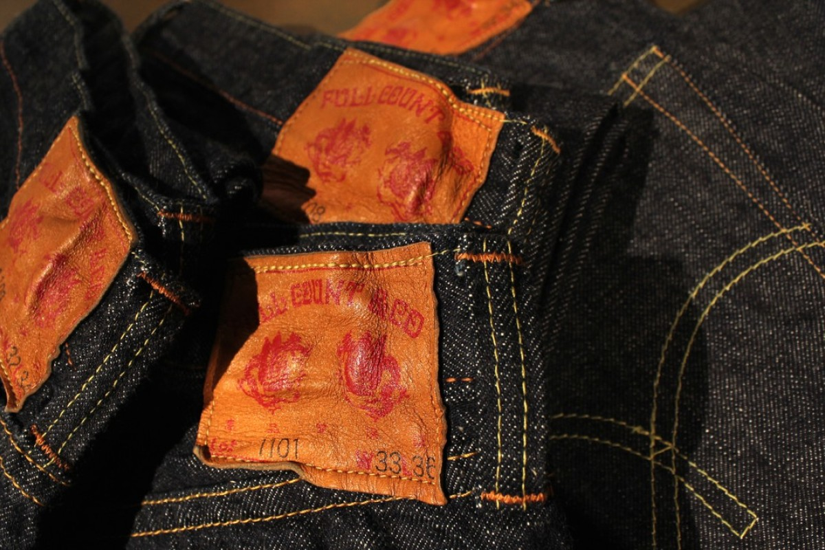d44b8df3 Full Count's denim jeans feature 12 different types of threads for  durability.