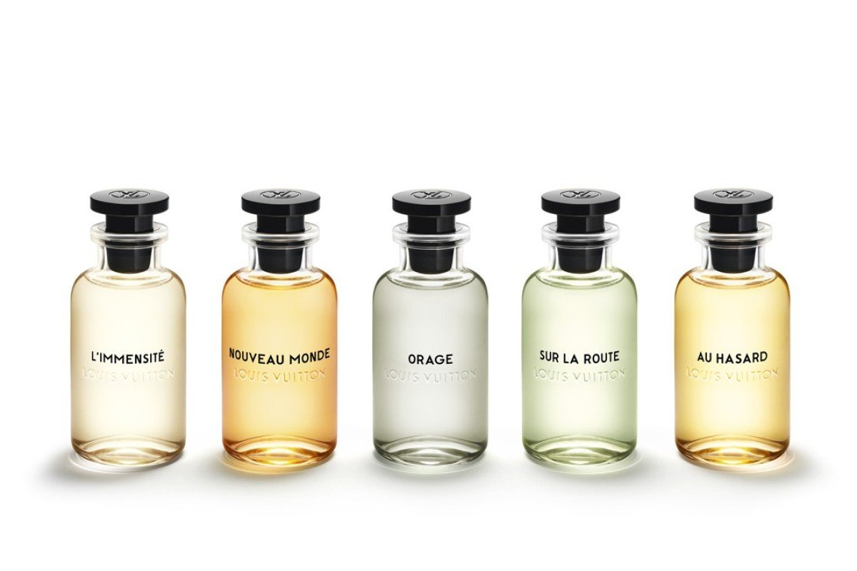 Louis Vuitton launches its first fragrance range for men, seeking to