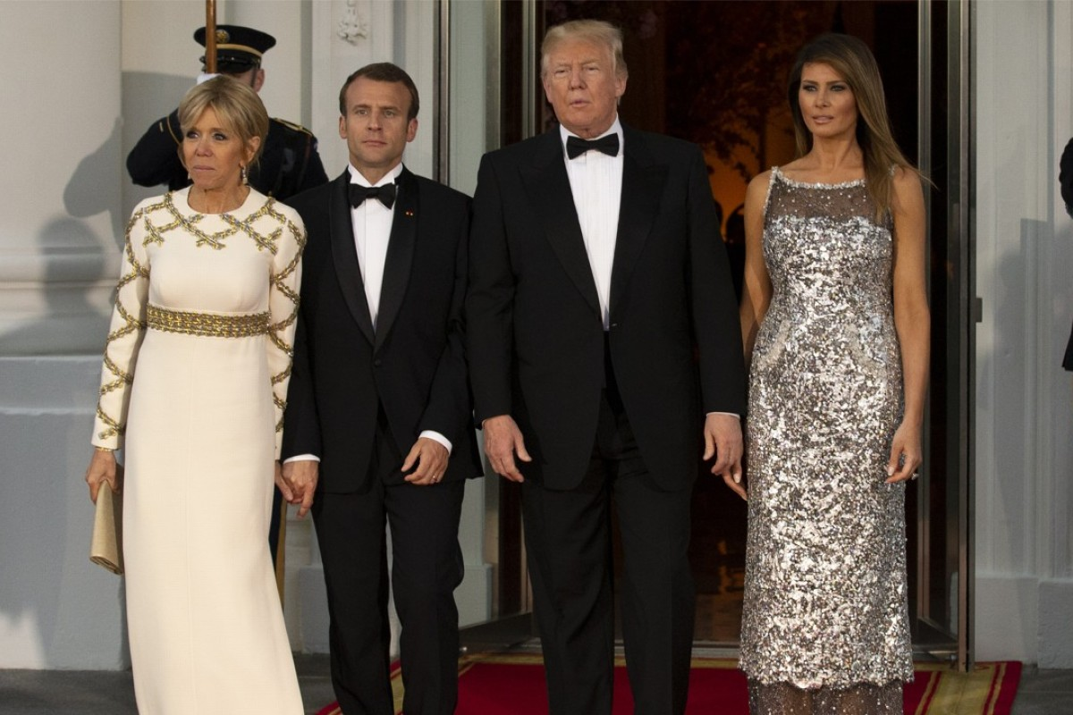 Melania Trump's fashion diplomacy: US first lady dazzles at