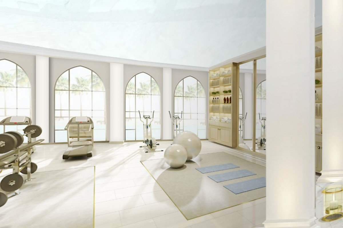 Luxurious state of the art gym takes fitness and relaxation