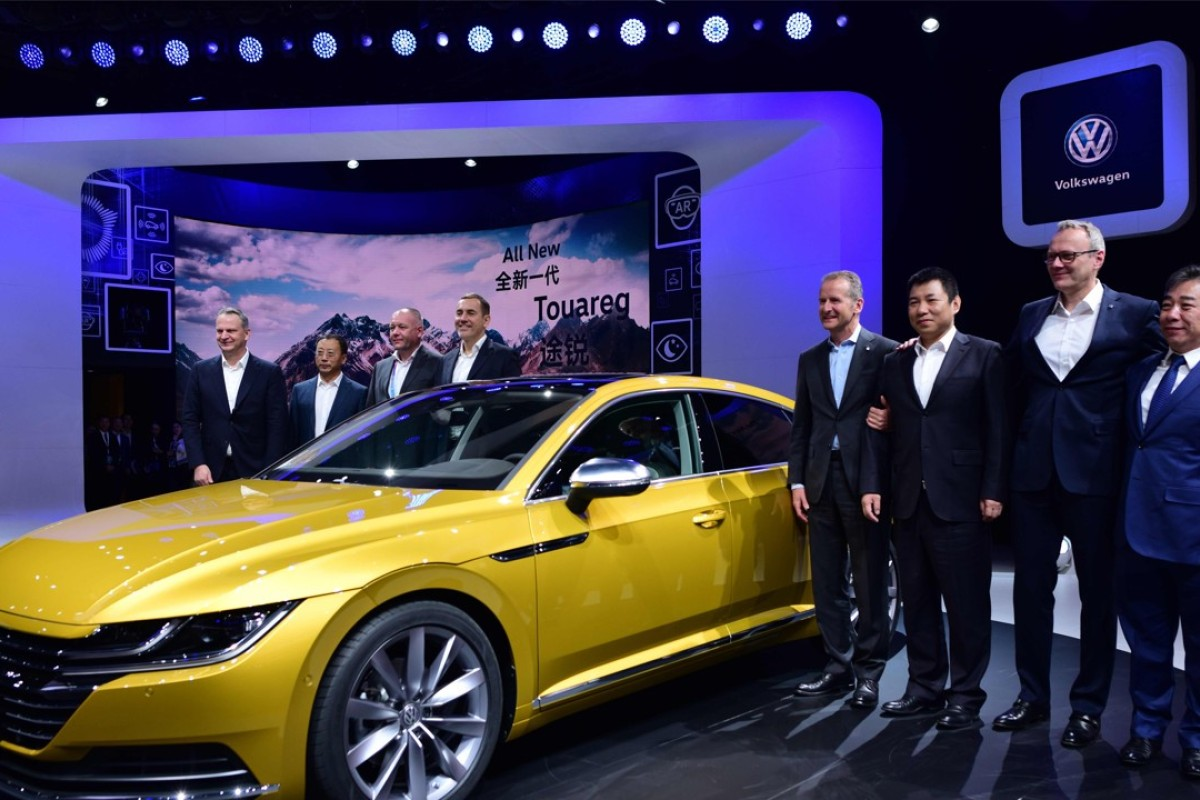 Volkswagen in talks to manage Didi fleet, co-develop self