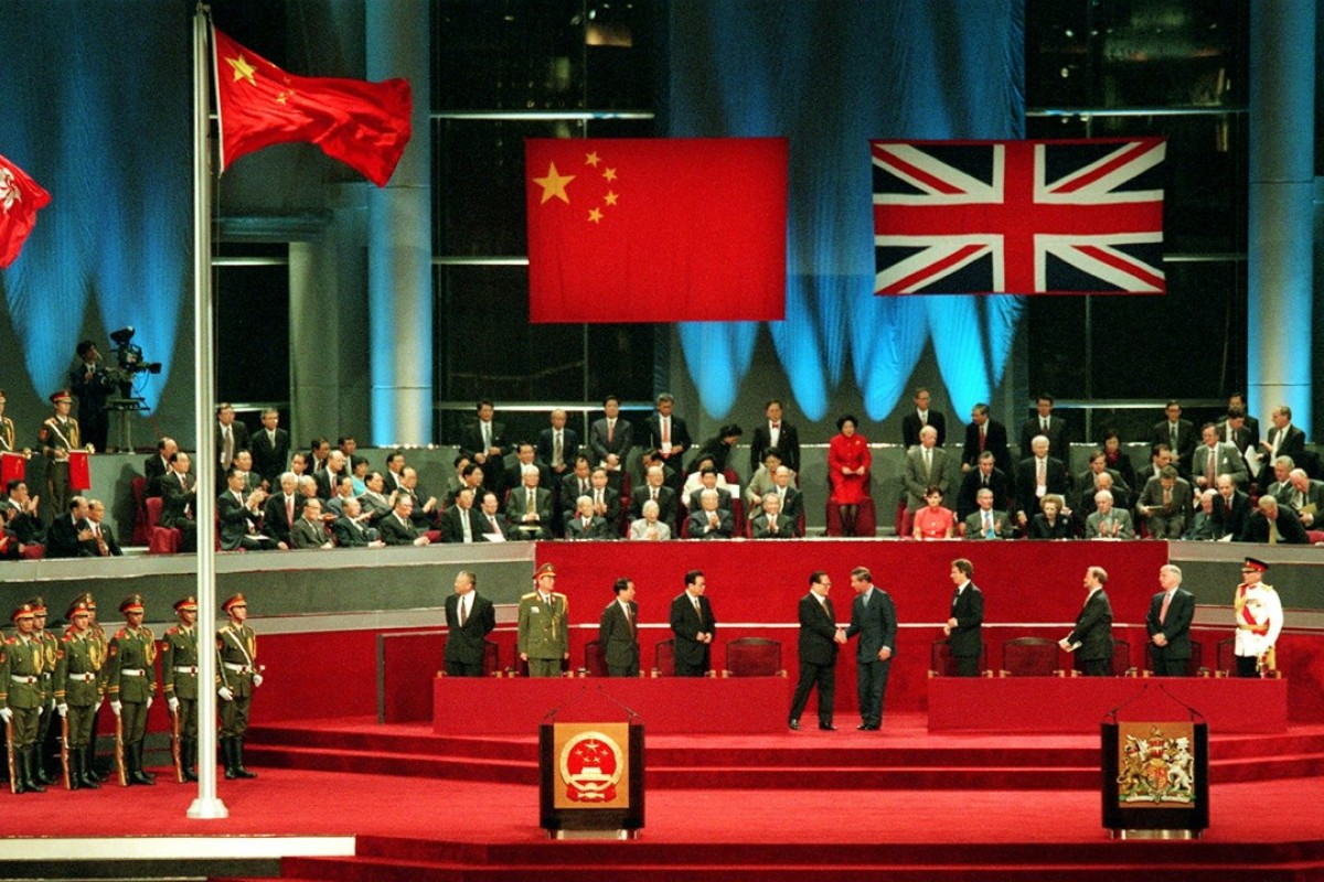 Government rewrites history of Hong Kong's 1997 handover, one ...