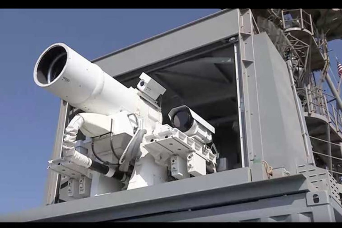 How China's military has zeroed in on laser technology