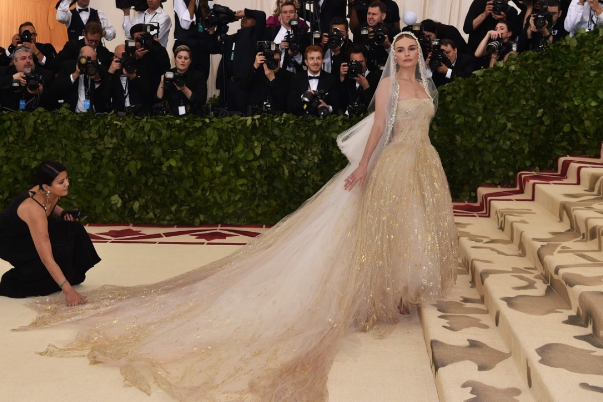 d4bbb8d6c6665 Met Gala 2018: fashion faithful don crosses, angel wings and robes ...