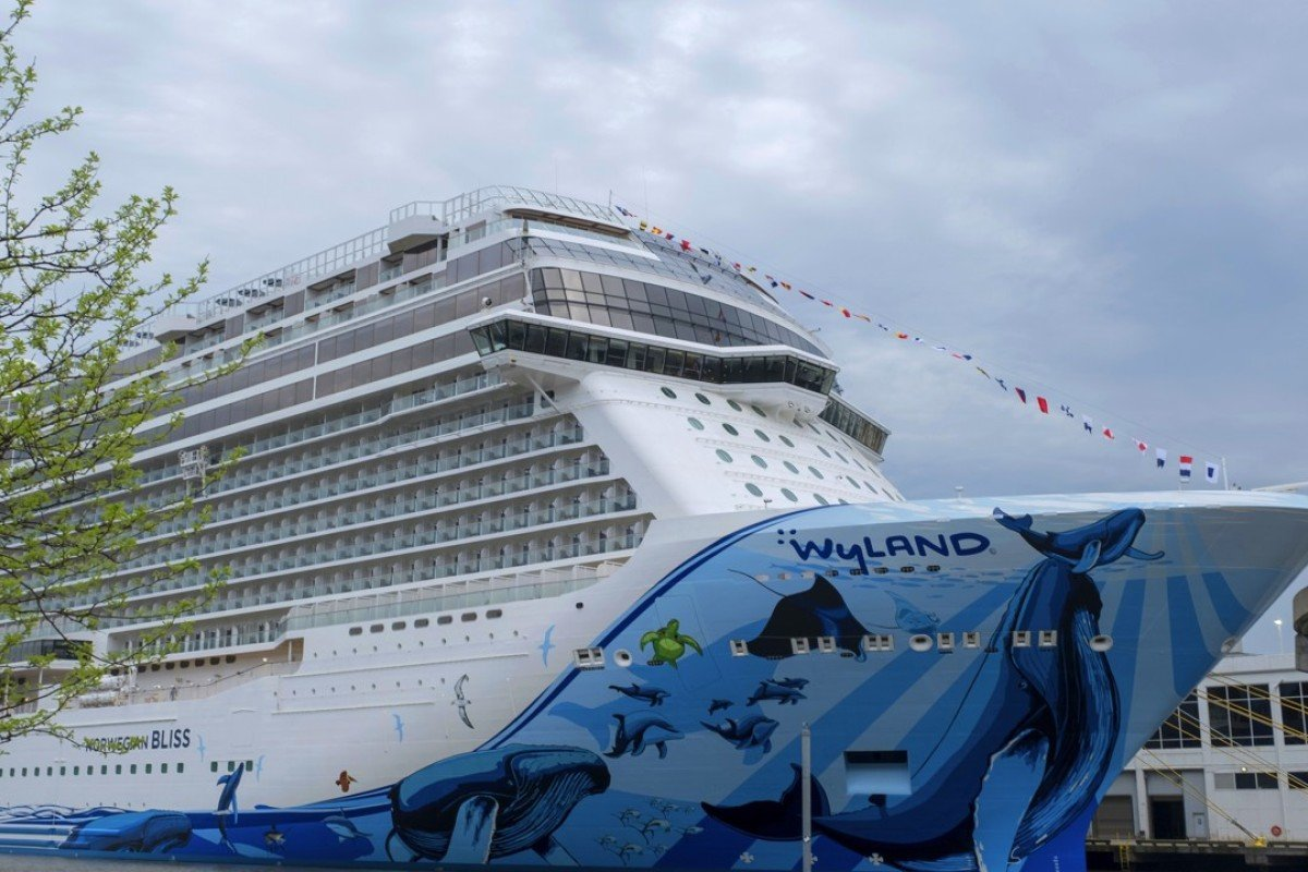 US$1 billion cruise ship with a racetrack aims to dethrone