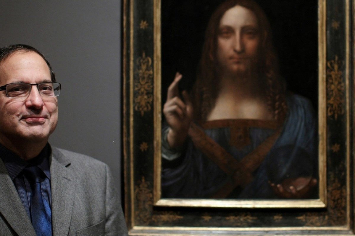 5fbb1395a Meet the man who found the da Vinci that sold for a record US 450 ...