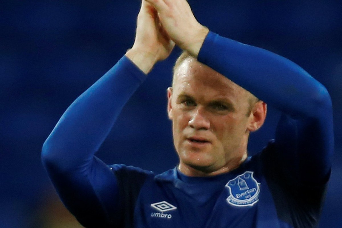 eb9481147 Wayne Rooney is set to miss out for Everton's final game of the season.  Photo